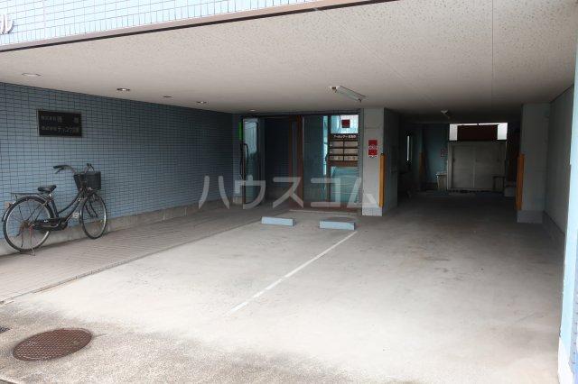 アールシティ・はたの 4B号室の駐車場