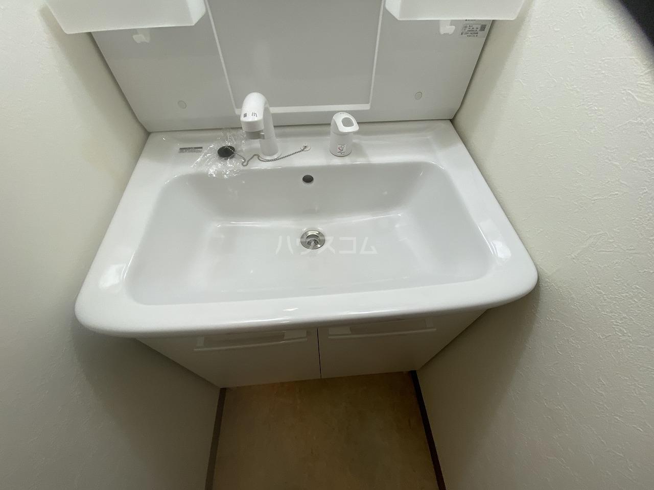 メモリータイム 103号室の洗面所