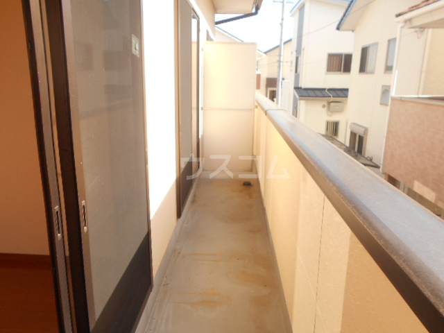 サンエイハイツ 202号室のバルコニー