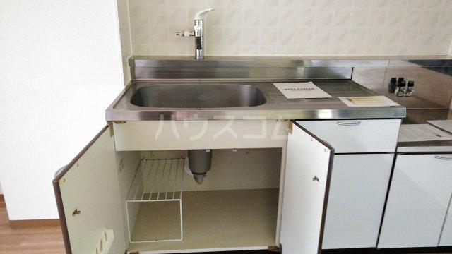 モン・プラティーヌ Ⅱ 203号室のキッチン
