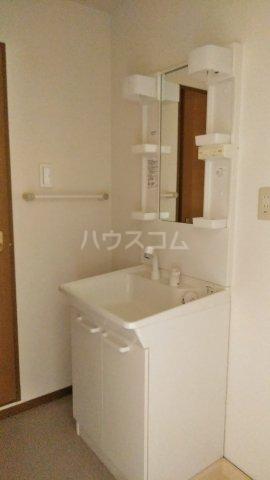 モン・プラティーヌ Ⅱ 203号室の洗面所