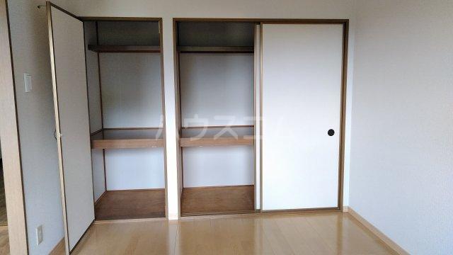 モン・プラティーヌ Ⅱ 203号室の収納