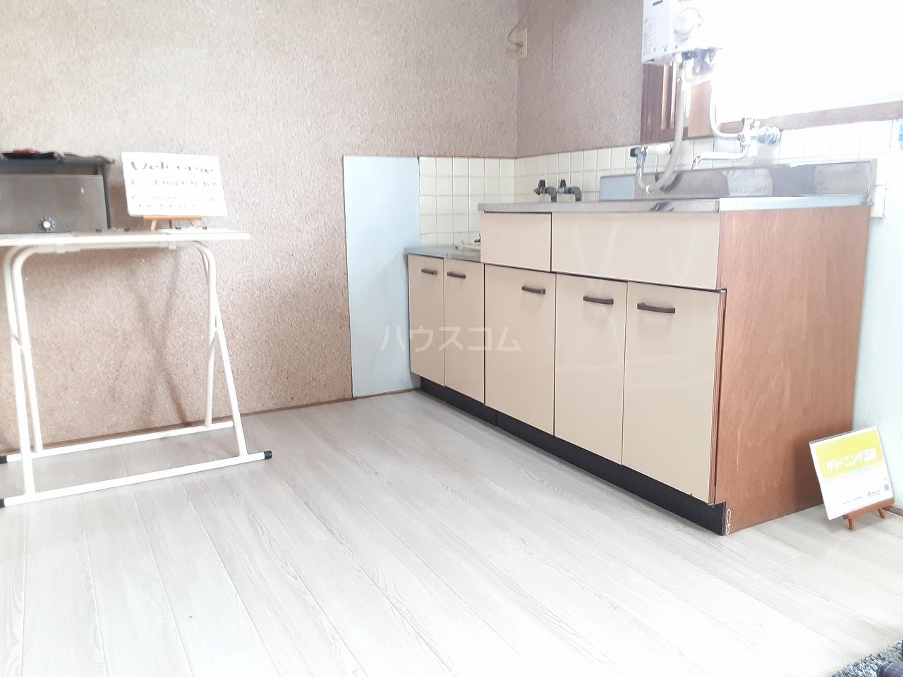 カーサ・ソレイユ 8号室のキッチン