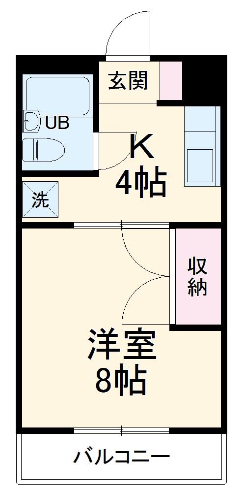タークマンション 106号室の間取り