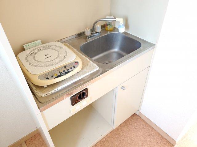 サン・ミッシェル 203号室のキッチン
