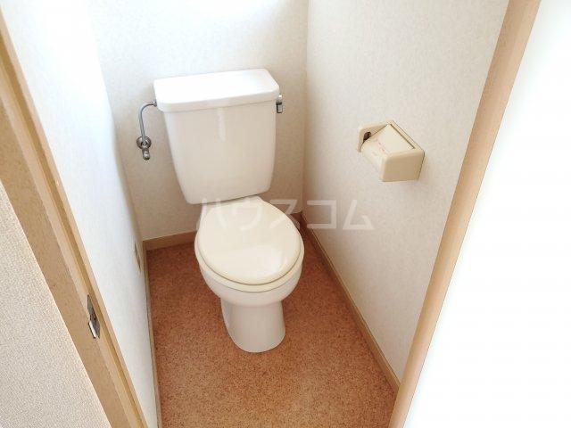 サン・ミッシェル 203号室のトイレ