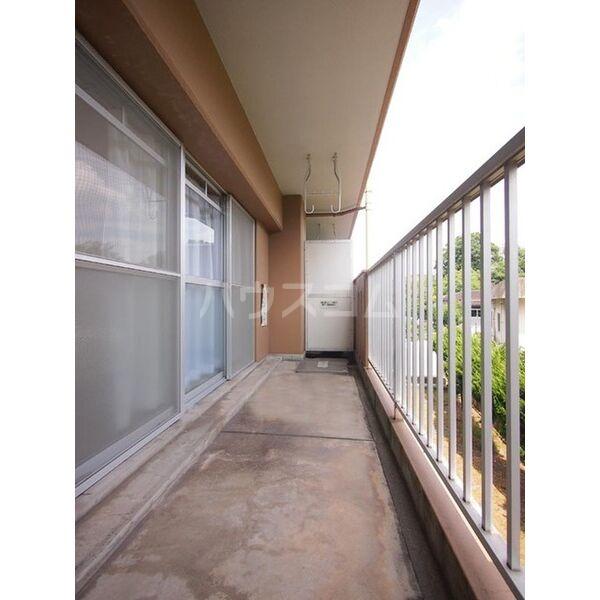 メゾン島田 203号室のバルコニー