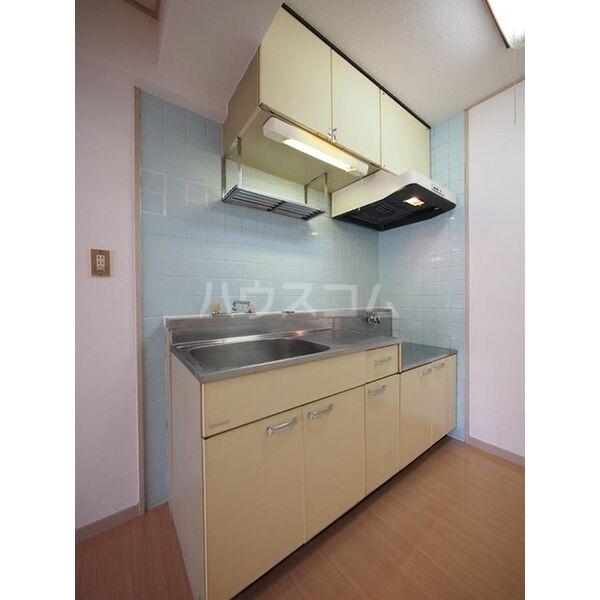 メゾン島田 203号室のキッチン