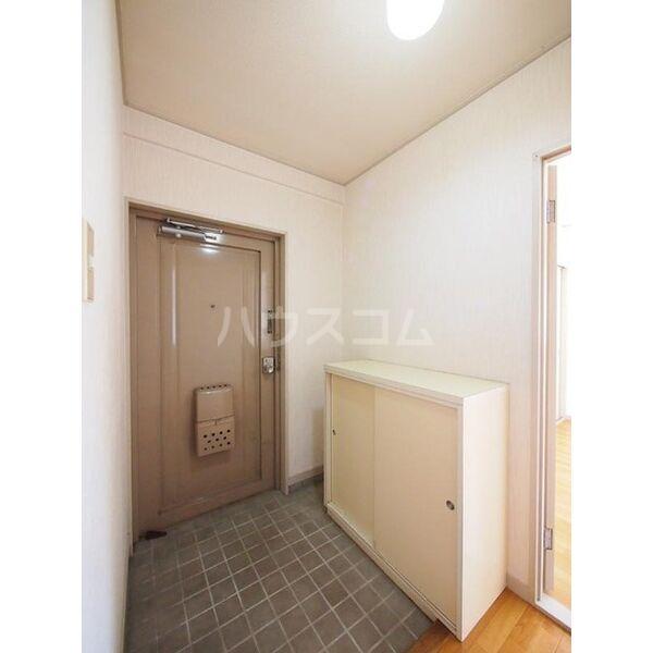 メゾン島田 203号室の玄関