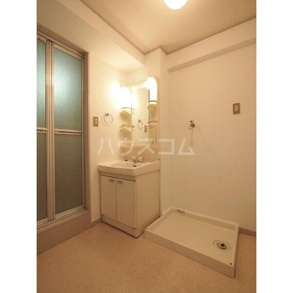 メゾン島田 203号室の洗面所