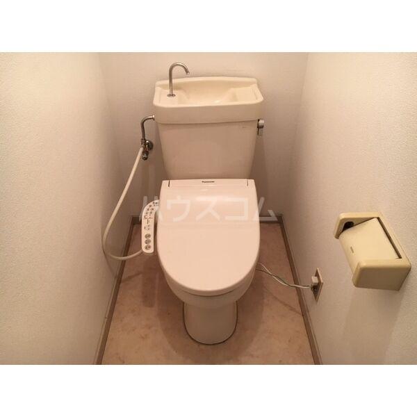メゾン島田 203号室のトイレ