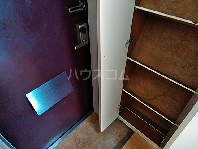 パレス竹越 205号室のバルコニー