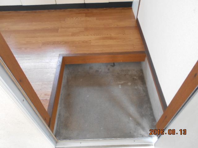 ドエル柴田 201号室の玄関