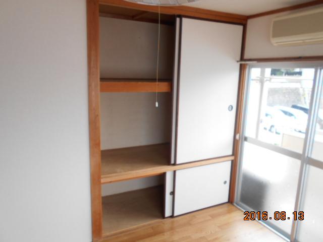 ドエル柴田 201号室の収納