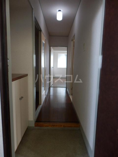 三鈴ハイム 201号室の玄関