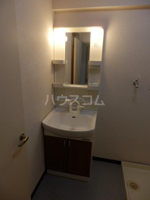 三鈴ハイム 201号室の洗面所