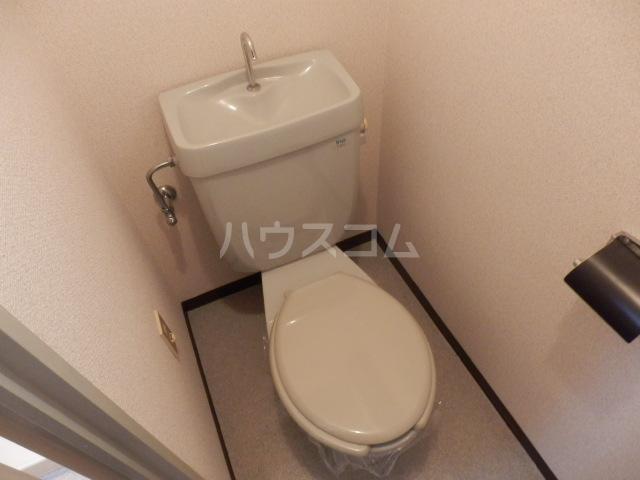 三鈴ハイム 201号室のトイレ