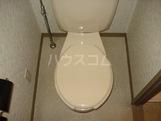 グローヴハイツおゆみ野 203号室のトイレ