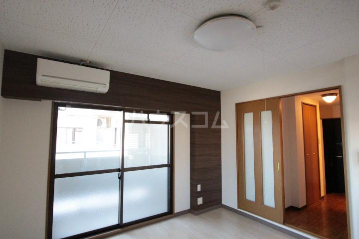 ソルトシティ浜松 608号室のベッドルーム