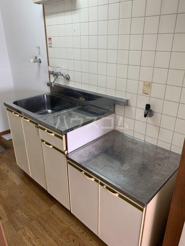 パレスリバーストーン 201号室のキッチン