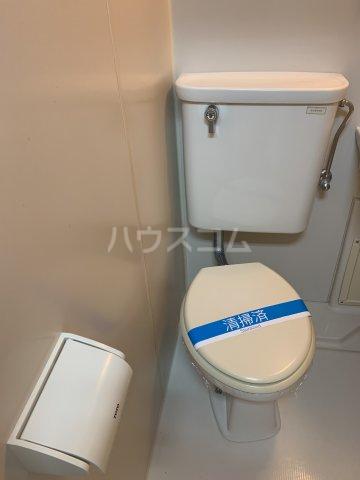 パレスリバーストーン 201号室のトイレ