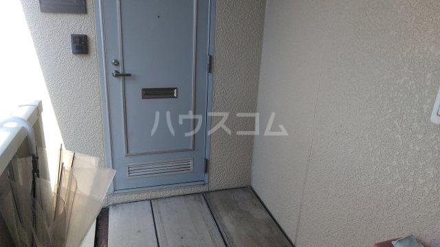 レジデンスKASUYA 205号室の玄関