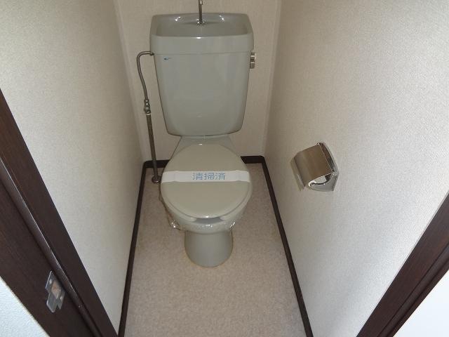 ハウスK3 203号室のトイレ