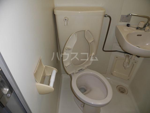 ルートヒルⅣ A6号室のトイレ
