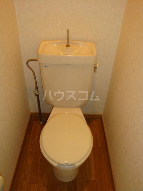第2ホーメスト桜木 1C号室のトイレ