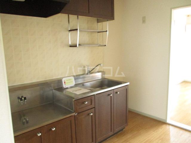 サンボナールA・B A-101号室のキッチン