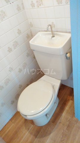 第2松田ビル 402号室のトイレ