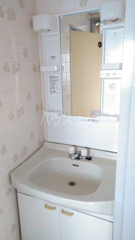 第2松田ビル 402号室の洗面所