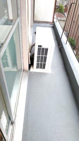 第2松田ビル 402号室のバルコニー