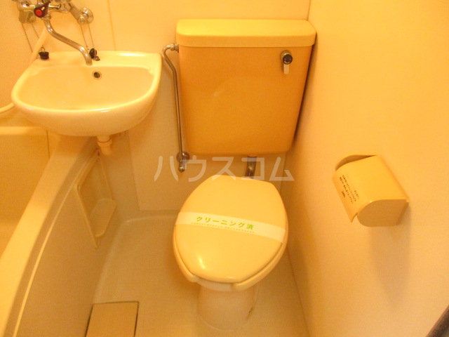 ビレッジ仁戸名 202号室のトイレ