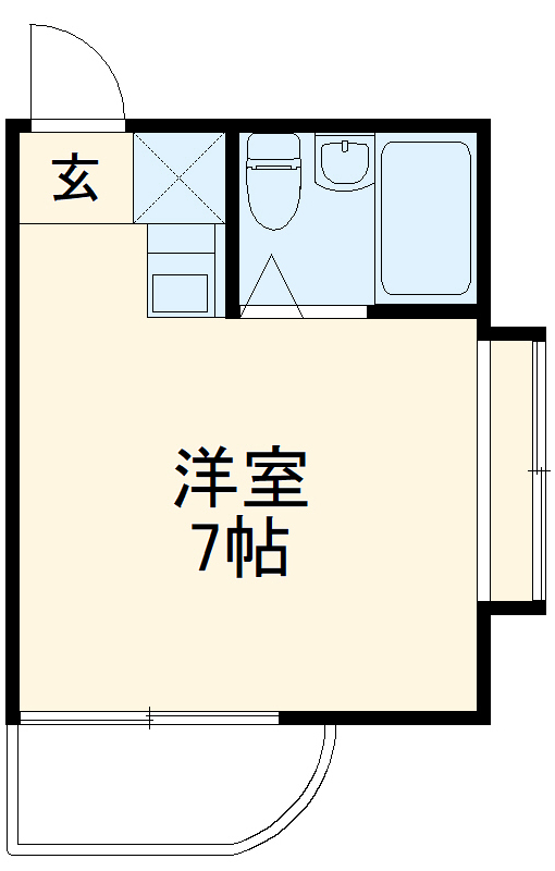 プレアール名古屋御器所 3E号室の間取り
