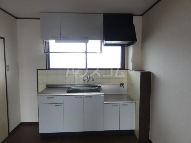 ベルシェ新開 302号室のキッチン