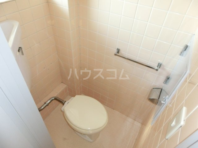 川島第二ビル 502号室のトイレ