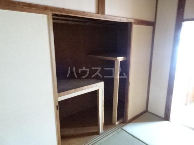 佐藤様貸家 E号室の収納