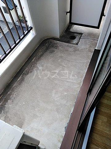 ハイツ天竜Ⅱ 302号室のバルコニー