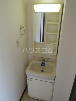 ヤマキ 203号室の洗面所