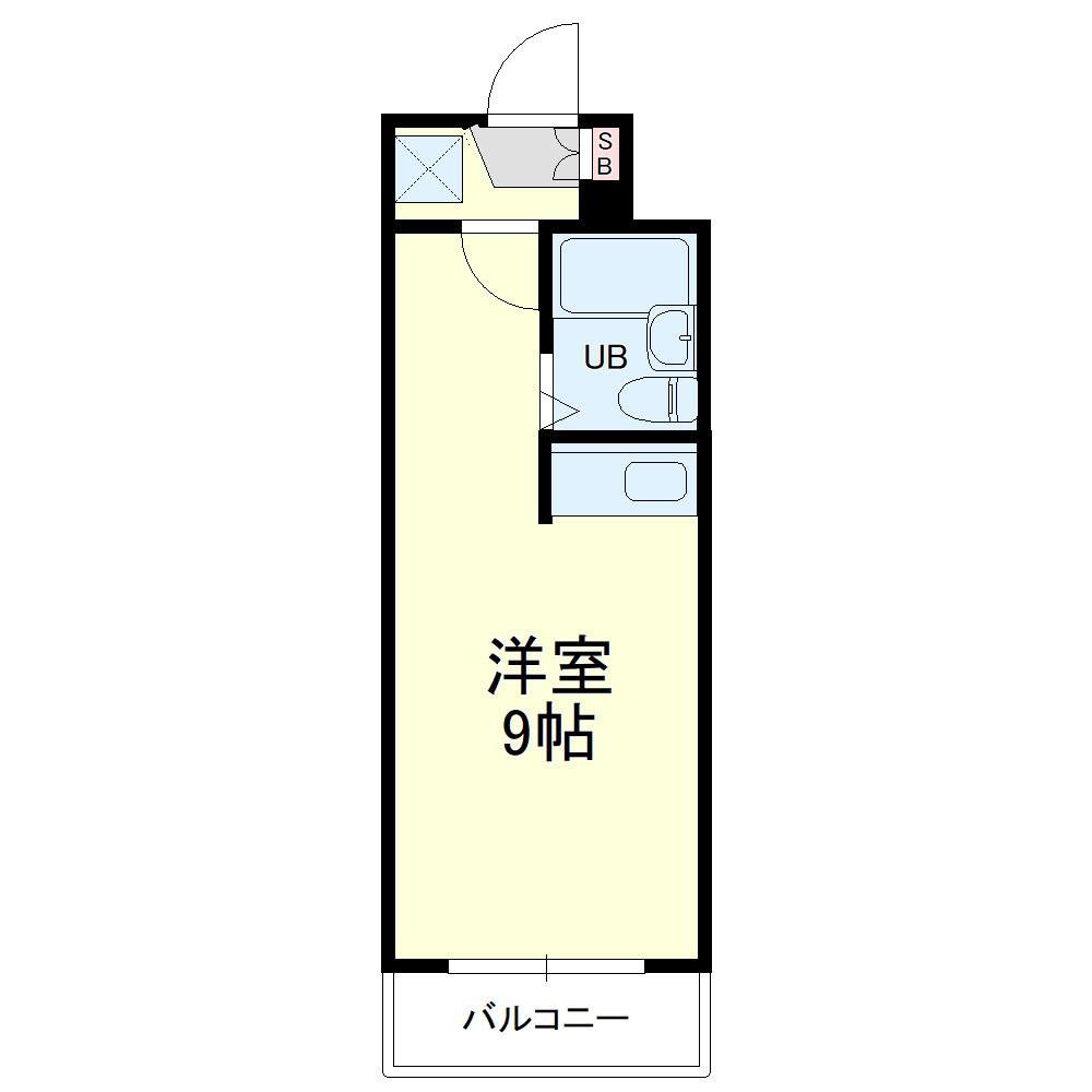 グレイス第5マンション 210号室の間取り