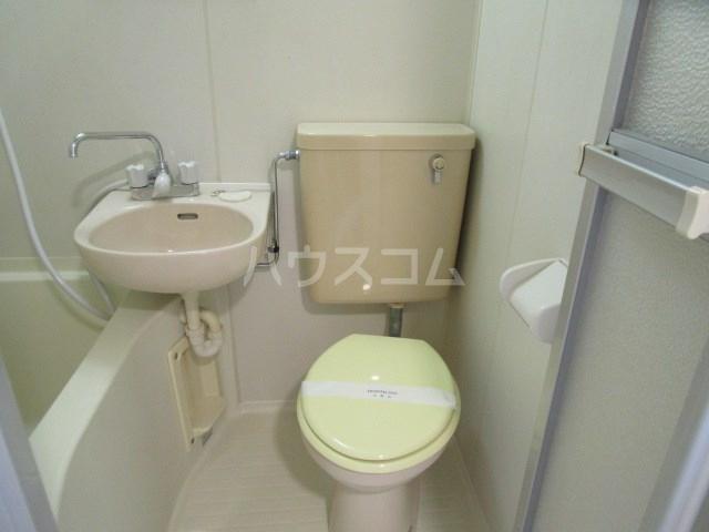 グレイス第5マンション 210号室のトイレ