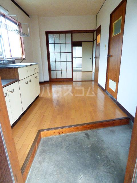 コーポ江川 204号室の玄関