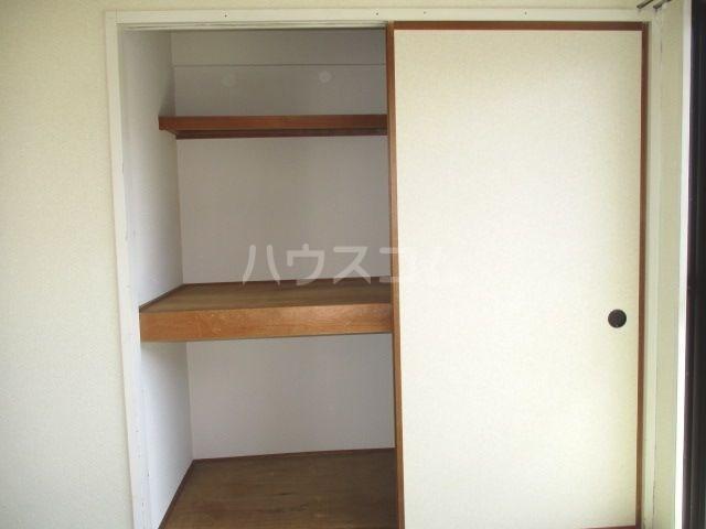 グレイス第3マンション 218号室の収納