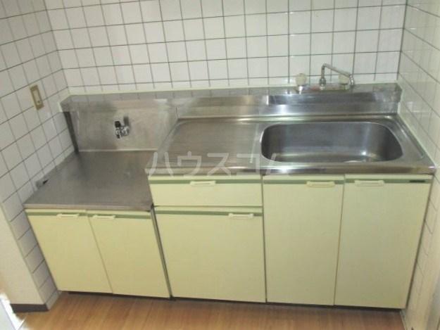 グレイス第3マンション 218号室のキッチン