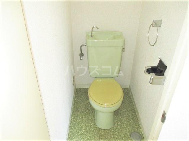 グレイス第3マンション 218号室のトイレ