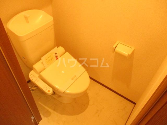 プリサージュ 102号室のトイレ