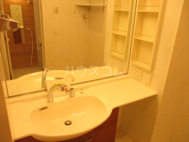 プリサージュ 102号室の洗面所