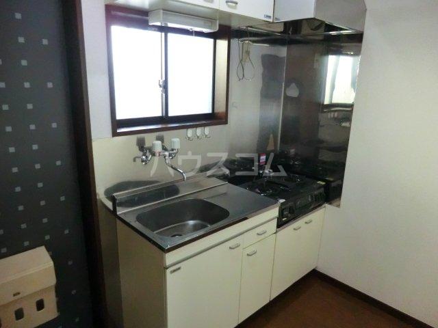 poko'sハウス 205号室のキッチン