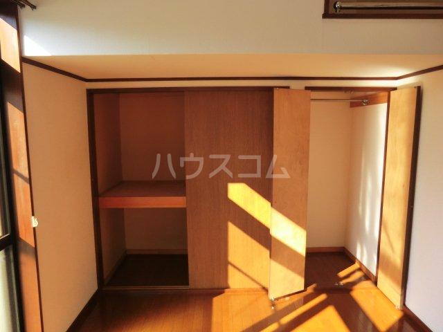 poko'sハウス 205号室の収納